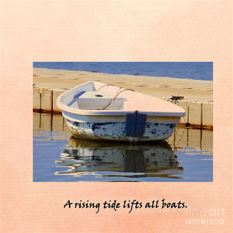 A Rising Tide Lifts All Boats by A Rising Tide Lifts All Boats Photograph By Marcel J Goetz Sr