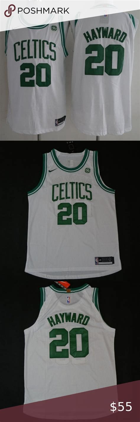 ⭐️NEW Nike Boston Celtics Gordon Hayward Jersey NB 1.New ...