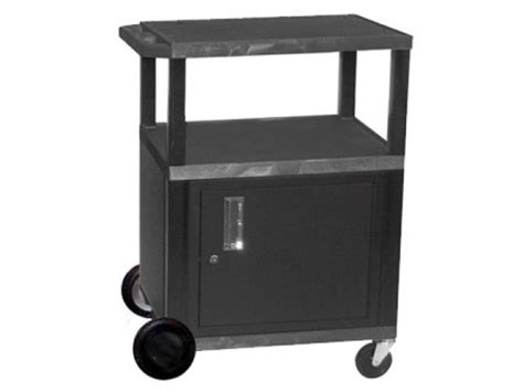 utility cabinet on wheels tuffy cart with cabinet with electric and 8 quot wheels 34 quot h