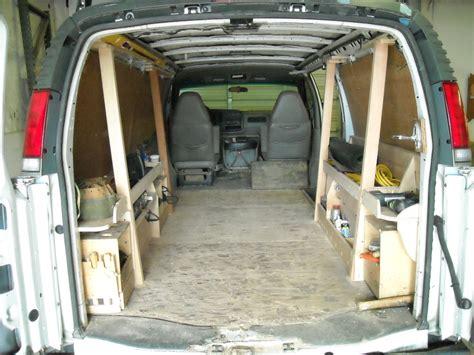 Van Interior Shelving Ford Transit Review Truck News