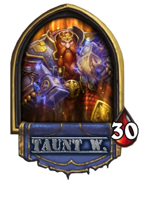 Hearthstone Taunt Deck Warrior by Markw S New Taunt Warrior Eu Hearthstone Decks