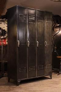 Meuble Industriel Vintage : miroir industriel toulouse ~ Nature-et-papiers.com Idées de Décoration