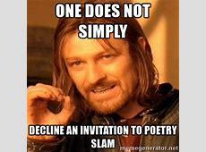Teen Poetry Slam next week! Kent District Library