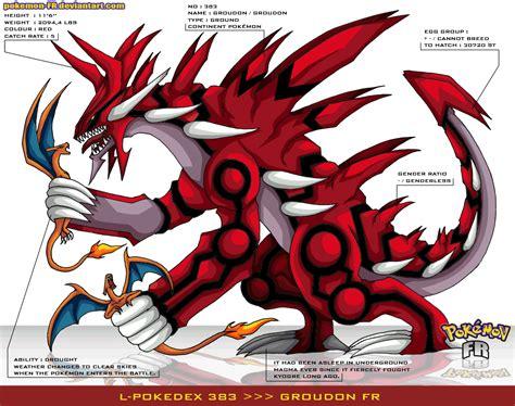 Lpokedex 383 Groudon Fr By Pokemon Fr On Deviantart