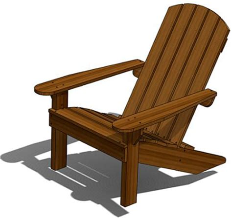 Outdoor Wooden Chair Plans Free Woodproject