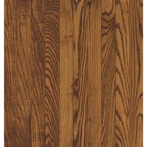 shop bruce 2 25 in w prefinished oak hardwood flooring spice at lowes com