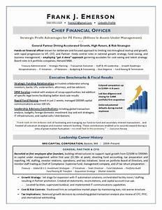 Executive Resume Samples By Award