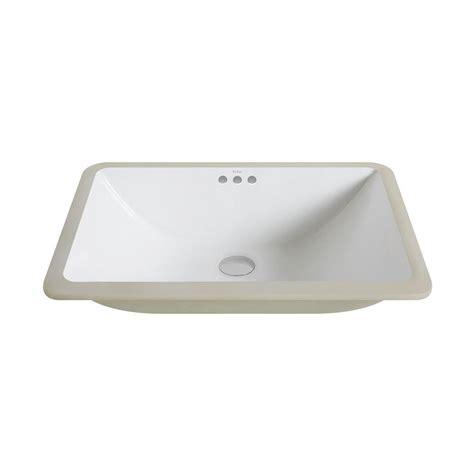 Small White Undermount Bathroom Sink by Kraus Elavo Large Rectangular Ceramic Undermount Bathroom