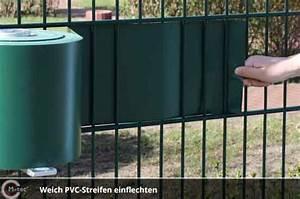 Sichtschutz Zum Einflechten : weich pvc h 23 5cm ~ Markanthonyermac.com Haus und Dekorationen