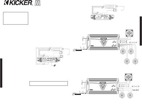 kicker kisl wiring diagram collection wiring diagram sle
