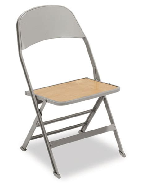 2517ws heavy duty folding chair wooden seat