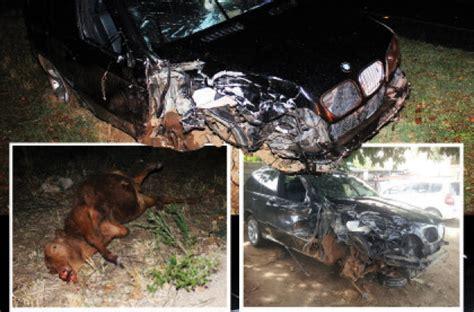 Chronicle Editor Cheats Death In Car Crash