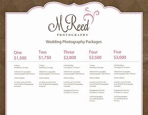 wedding photography packages With wedding photography package names