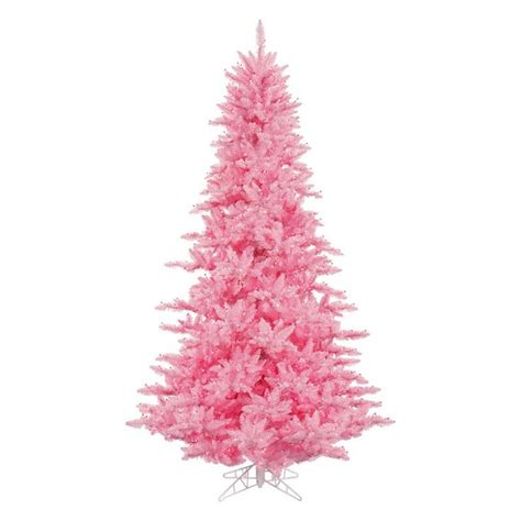 vickerman pink fir pre lit christmas tree www