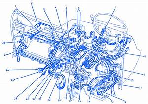 Lincoln Continental 1996 Electrical Circuit Wiring Diagram