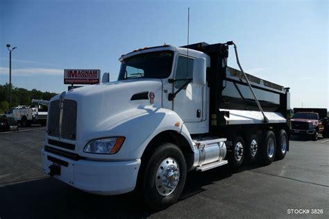 trade trucks kenworth 2015 kenworth t440 dump trucks for sale used trucks on