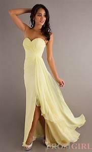 Pale yellow bridesmaid dress. | Weddings | Pinterest ...