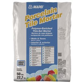 ultraflex 2 mortar shop mapei ultraflex 2 gray 50 lb gray powder polymer modified mortar at lowes com