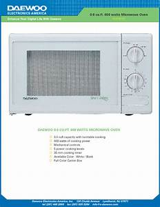 Daewoo Microwave Convection Oven Manual  U2013 Bestmicrowave