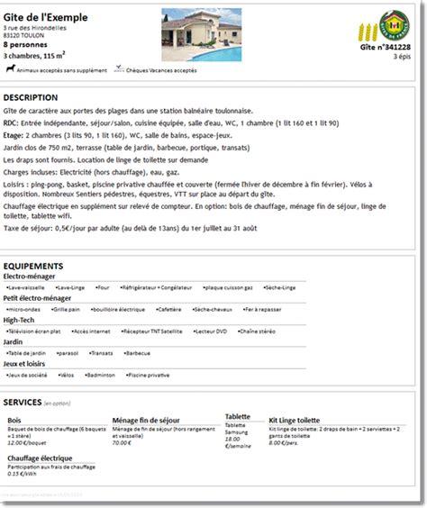 contrat location chambre éditer automatiquement vos contrats de locations saisonnières