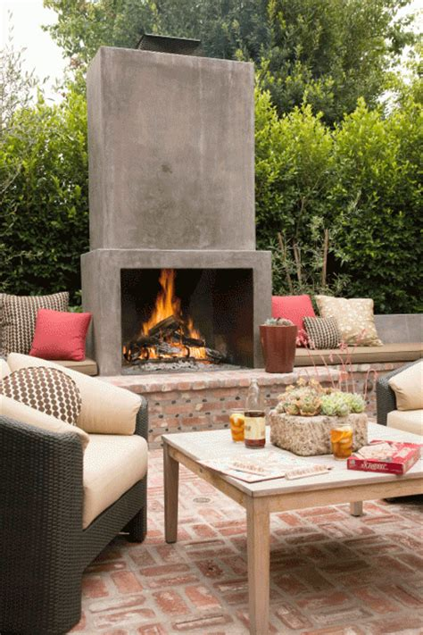 outside fireplace designs shop house dallas outdoor living no pool edition