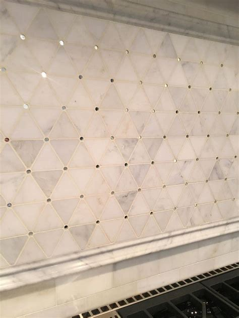 backsplash tile  range  honed mosaic pattern