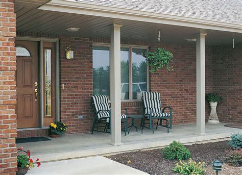 porch column wraps 8x8 square fluted aluminum column white