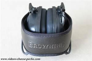 Casque De Protection Auditive : browning xtra protection casque lectronique de protection auditive avis ~ Melissatoandfro.com Idées de Décoration