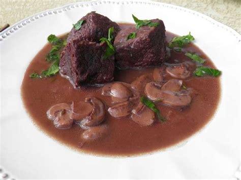 recettes de bourgogne et viande
