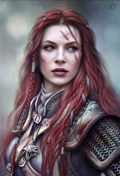 Human female barbarian fighter   Fantasy inspiration ...