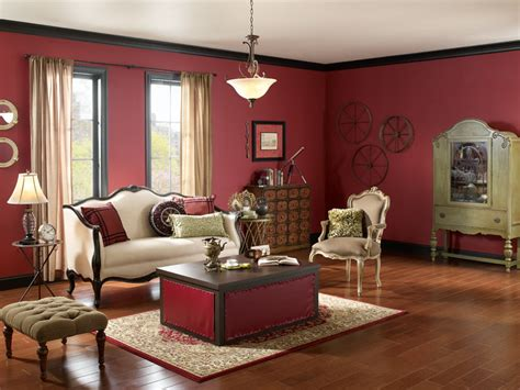 Red Kitchen Paint Ideas - steunk living room walls spiced wine ul100 8 ceiling flickr