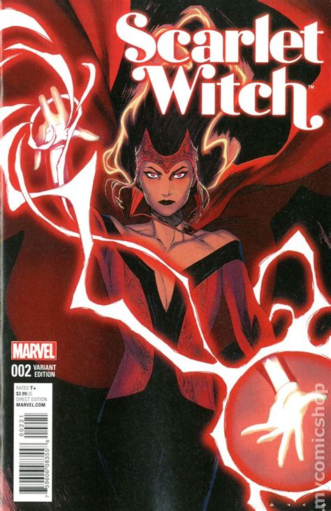 scarlet witch  comic books