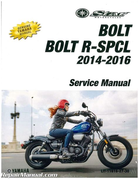 motocross bike repairs 2014 2016 yamaha xvs95c bolt motorcycle service manual