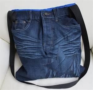 DIY JeaNS Bag Shopper | DIY | Pinterest | Best Diy jeans and Recycle jeans ideas