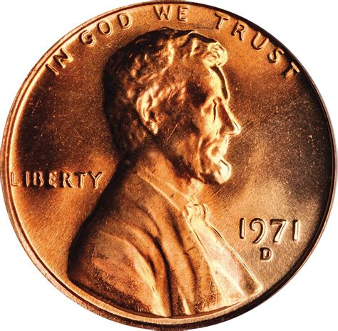 Value of 1971-D Lincoln Cents   We Appraise Modern Coins