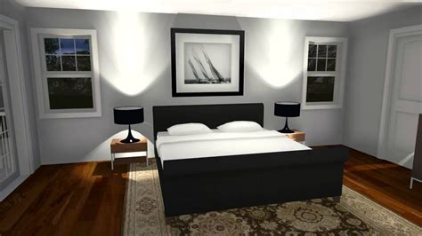 Lumion Sample Rendering Of A Bedroom Model Created In