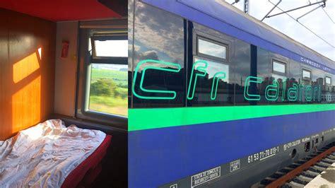 sleeping train cfr istanbul bucharest empty