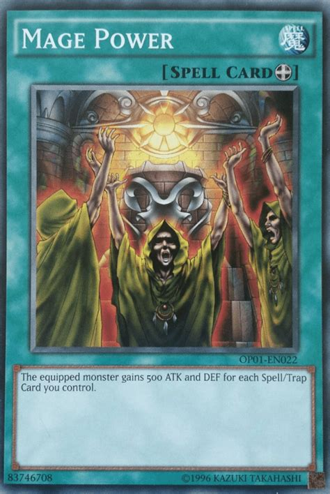 spells equip mage power yugioh yu gi oh spell cards card monster destroy extra