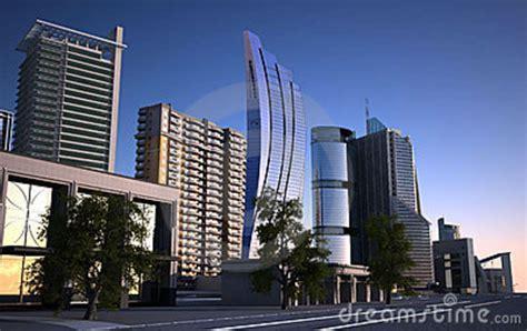 moderne ville de ville moderne photo libre de droits image 16419625