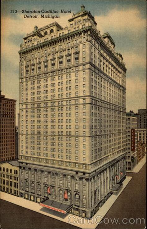 Hotels Cadillac Michigan by Sheraton Cadillac Hotel Detroit Mi