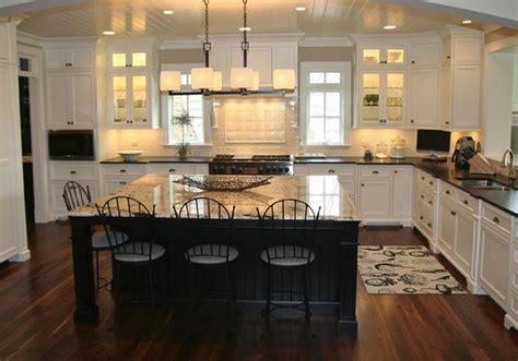 cuisine ouverte ilot deco maison cuisine ouverte