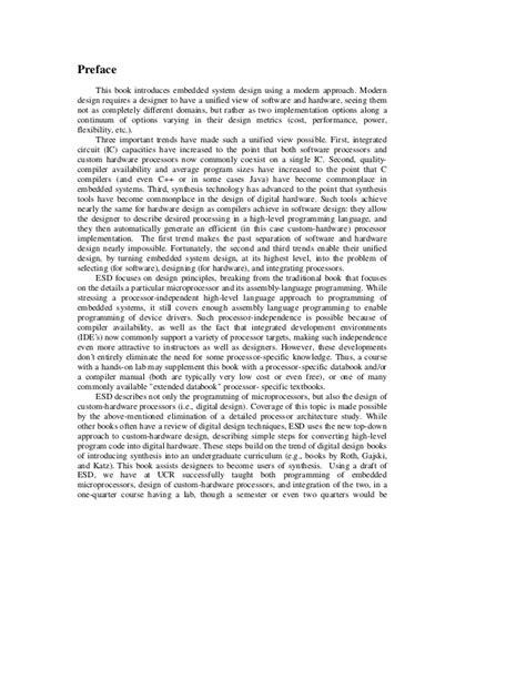 EMBEDDED SYSTEM DESIGN FRANK VAHID TONY GIVARGIS PDF DOWNLOAD