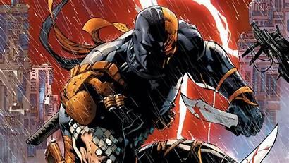 Deathstroke 4k Comic Artwork Wallpapers Dc Titans