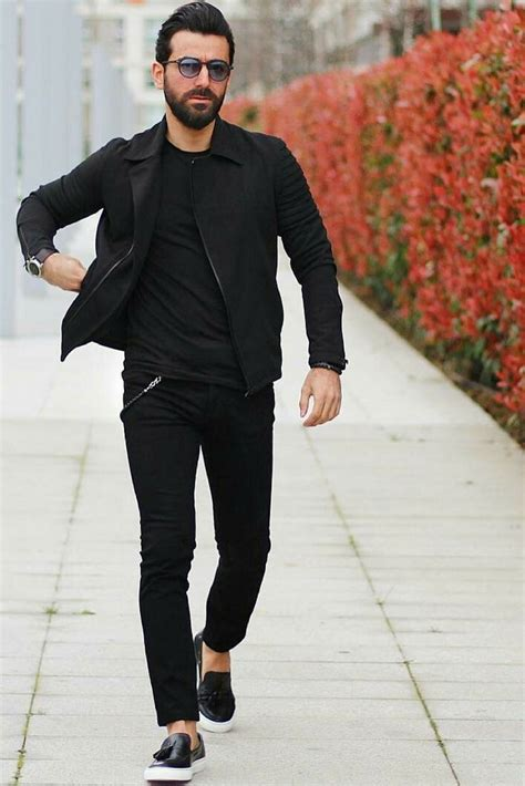 All Black Outfits For Men Outfit