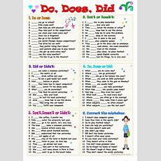 Do, Does, Did Worksheet  Free Esl Printable Worksheets Made By Teachers