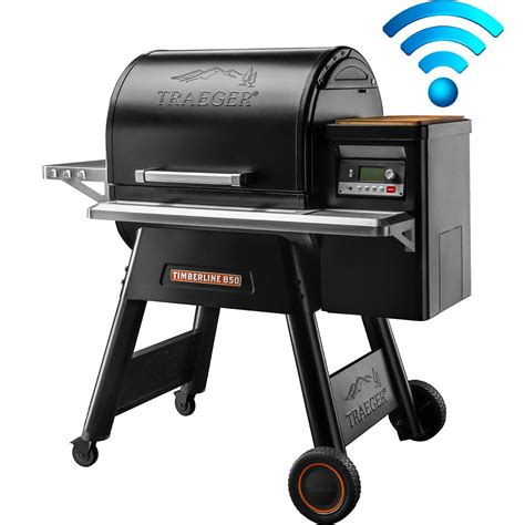 traeger timberline  wi fi controlled wood pellet grill