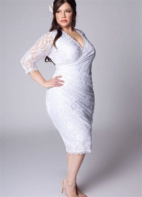 size dresses cheap  sleeves pluslookeu collection