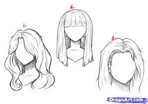 Drawing Anime Girl Long Hair