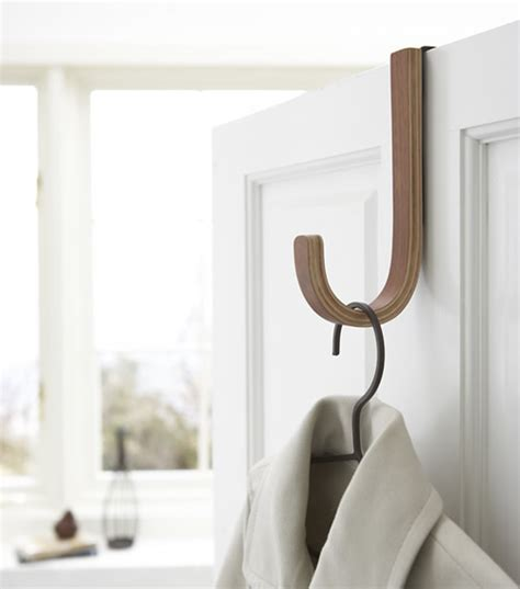 STORE   Dark Wood Over Door Hook