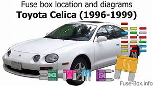 Fuse Box Location And Diagrams  Toyota Celica  1996